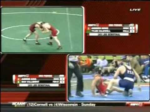 Dan Vallimont of Penn State vs Jarrod King of Edinboro 2010 NCAA Nationals (Pt.2)