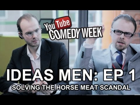 IDEAS MEN | EP 1 | SOLVING THE HORSEMEAT SCANDAL | Damien Slash & Ashens
