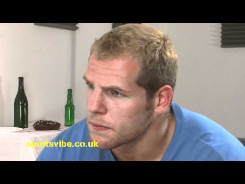 England Rugby Player Haskell Loses it During Interview - England Rugby