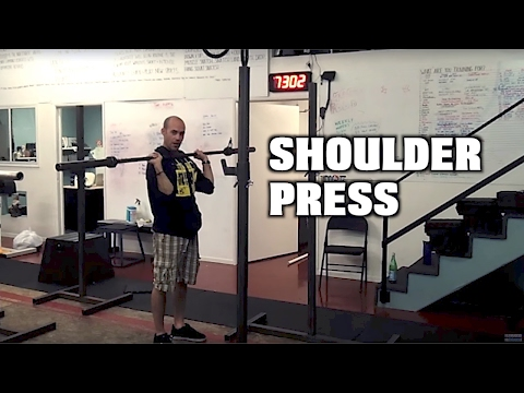 Paradiso CrossFit - Shoulder Press Image 1