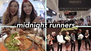 "🎬 Korean Movie Premiere at Lotte Cinema   ""Midnight Runners"""