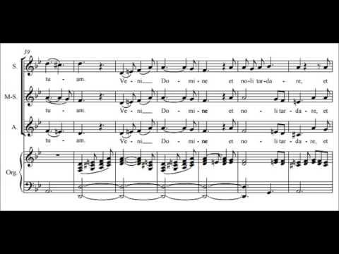 Феликс Мендельсон - Veni Domine, Op. 39, No. 1