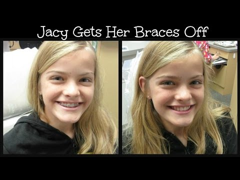 Jacy Gets Her Braces Off  ~ Jacy and Kacy