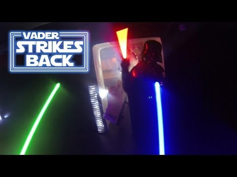 First Person Darth Vader 2 - GoPro Lightsabers (stuntpeople)
