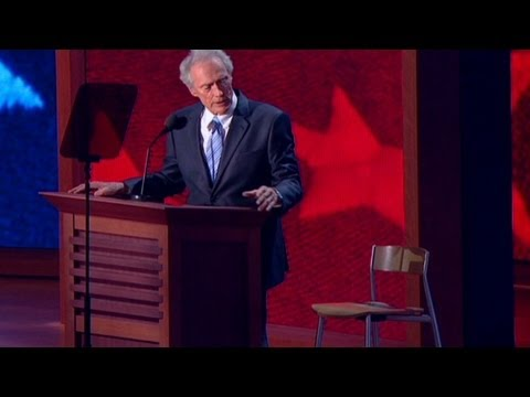 Eastwood's empty chair haunts the DNC