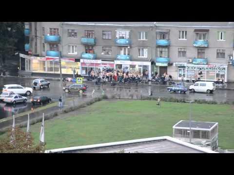 Драка фанатов Металист (Харьков) -  Динамо (Киев) 15.09.2013