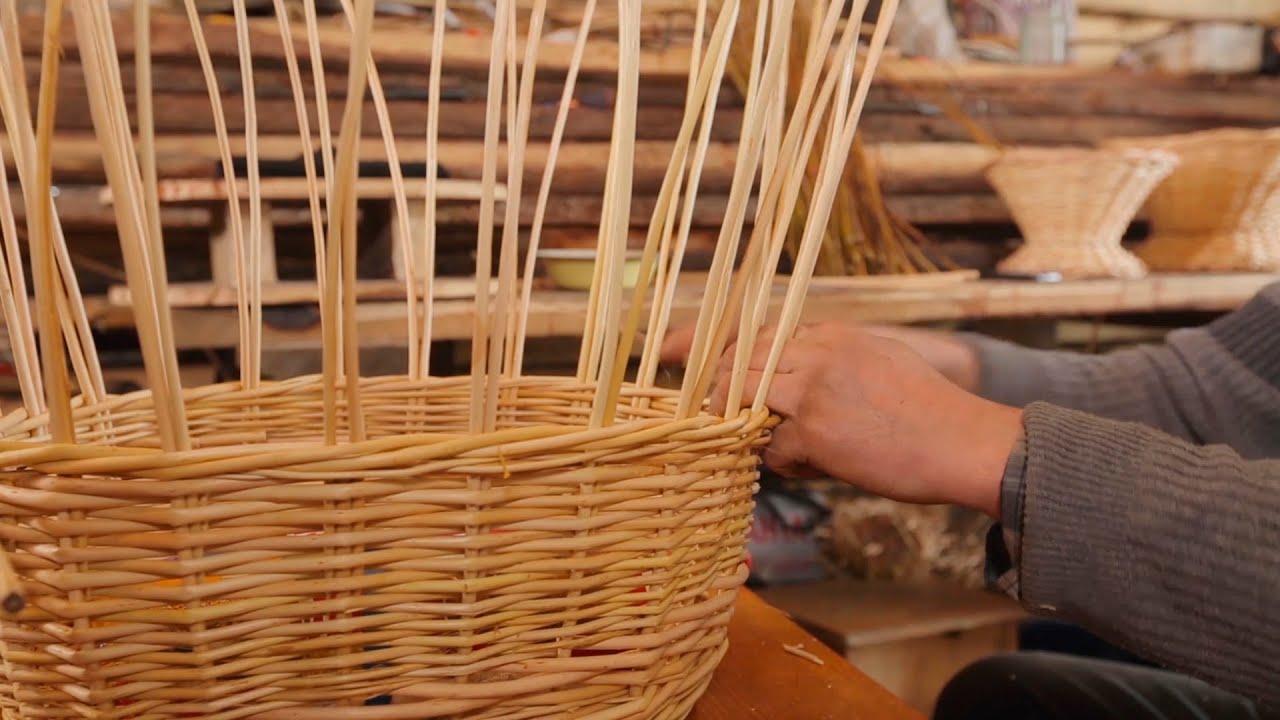 Как сделать корзинку из ивовых прутьев