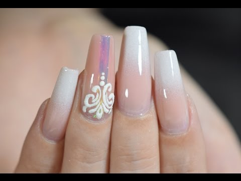 OMBRE NAILS WITH GELS ONLY| RED IGUANA| APRIL RYAN