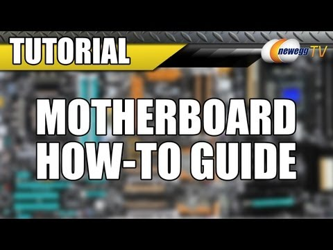 Newegg TV: Motherboard Handling, Installation and Shipping Guide
