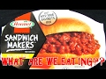 Hormel Sandwich Maker's Sloppy Joes - WHAT ARE WE EATING?? - The Wolfe Pit
