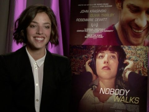 Olivia Thirlby Talks 'Nobody Walks'