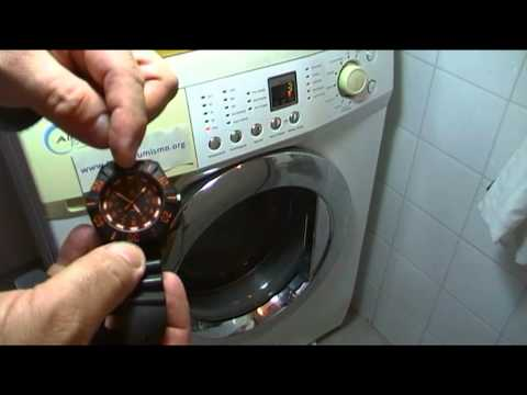 PROBLEMAS DESAGUE LAVADORA LAVARROPAS PRUEBA DEL CUBO DE AGUA VIDEO 1 DE 2
