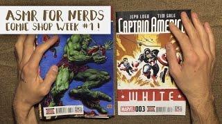 Comic Shop ASMR #1 - Whisper Comic Book Reading