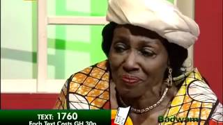 Exclusive interview with Nana Konadu Rawlings on Adom TV (11-5-12)