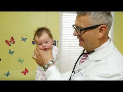Pediatra mostró cómo calmar a un bebé en segundos