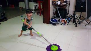 Mẹ Ghẻ Con Chồng #6 ❤ Khi Anh Hai Xem Bóng Đá, Tin Dọn Dẹp Nhà Cửa ❤ Tin Siêu Còi