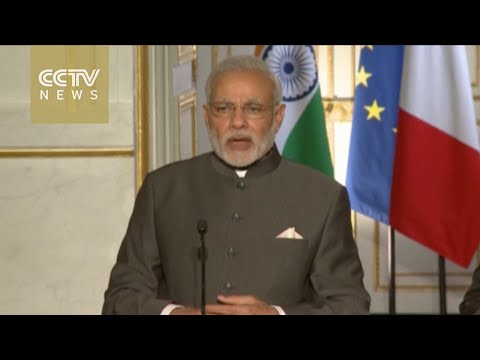 Indian PM Modi visits French space agency