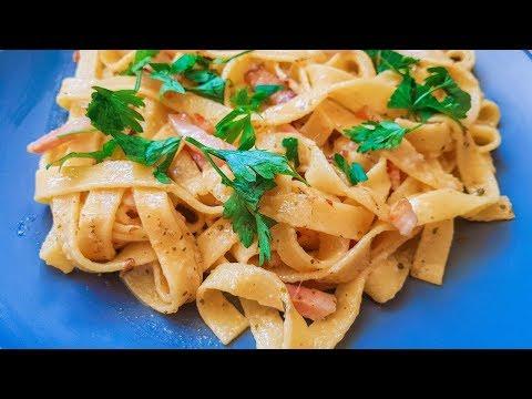 Италия на собственной кухне. Макароны в сливочном соусе Паста объедение