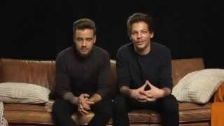 Shoutout from Louis Tomlinson and Liam Payne 1D to Sony Music Indonesia