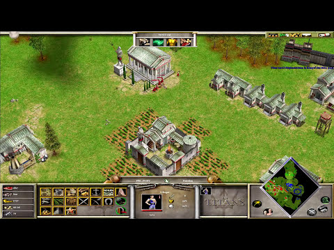 {3/3} Age Of Mythology | King Of The Hill | w/ Hephaestionn