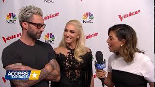 Gwen Stefani & Adam Levine On Kelly Clarkson joining The Voice