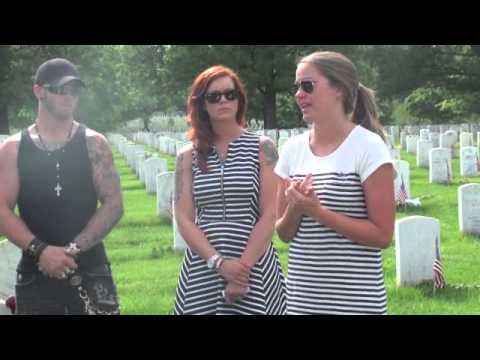 Day Eight: Brantley Gilbert Ends Ride In Arlington National Cemetery video