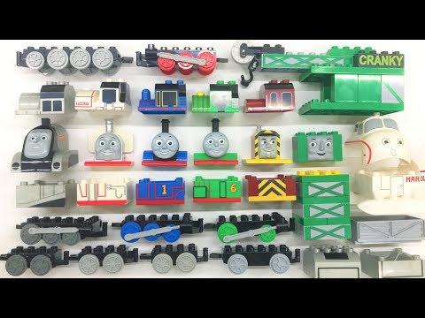 Toy Train Videos for Children Thomas   Building Blocks Toys for Kids   Assembly Videos