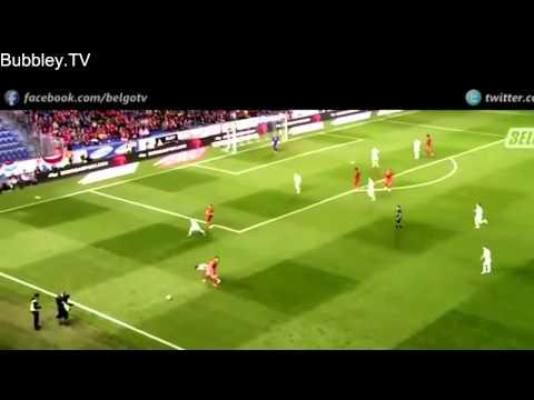 Adnan Januzaj Individual Highlights   International Debut   Belgium vs Luxembourg 5 1   HD   2
