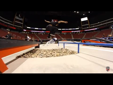 Street League 2012: AZ Practice Quick Clip with Paul Rodriguez