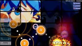 應援團osu! NicoNico Douga-Fight Against Squid Girl [Dou Degeso!]