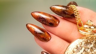 3D Precious Minerals Galaxy-like Nails