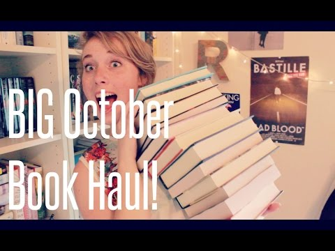 BIG October Book Haul!!