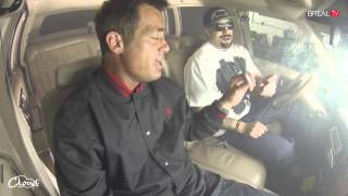 Peter Dante (Grandma's Boy) Hotboxes Cadillac With B-Real! - The Smoke Box - BREAL.TV