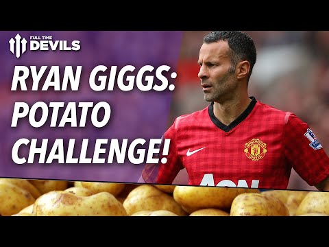Ryan Giggs Juggling A Potato | Manchester United
