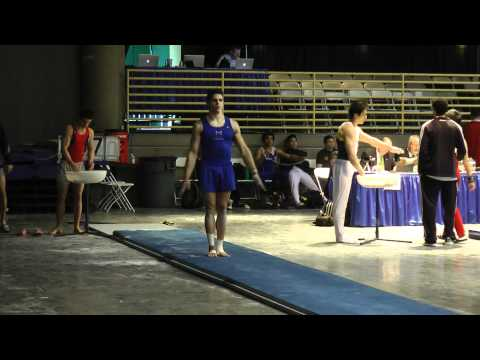 Chris Brooks - Vault - 2012 Winter Cup Prelims