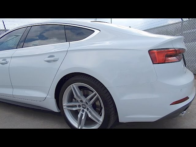 2018 Audi A5 Sportback Quick Drive and Price