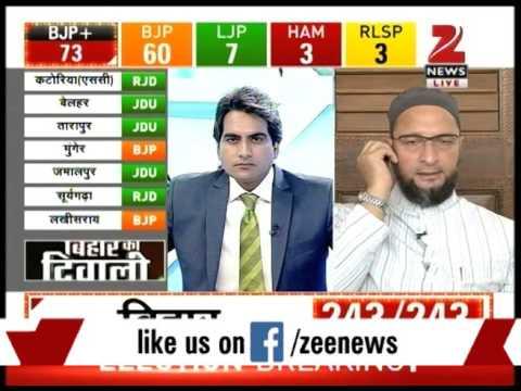Bihar elections result 'a personal defeat of Modi': Asaduddin Owaisi