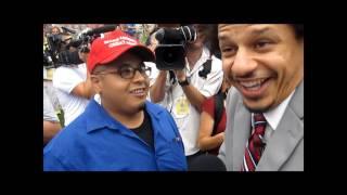 Eric Andre interviews LatinoTrump supporter
