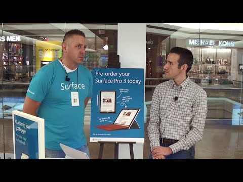 Microsoft Surface Pro 3 First Look Review - New Tablet / Laptop Replacement for 2014