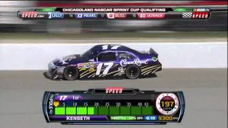 [HD] Matt Kenseth - Chicago Geico 400 2011 Pole Lap