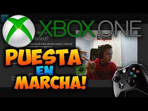 Xbox One Puesta en Marcha ¡¡ Encendemos !!   Perfil. Amigos. Configuración. Kinect y Más.