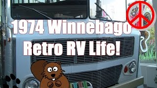 1974 Winnebago Near Mint Retro RV Living!