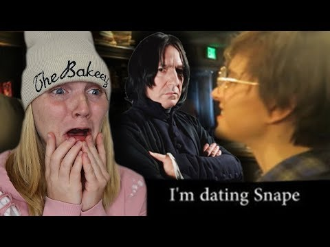 Snape cheated on me with Tessa Netting