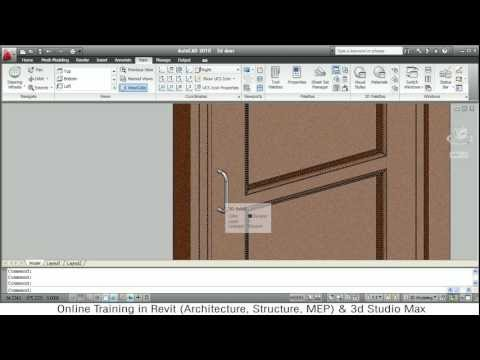 Architecture Home Design Software on Door Tutorial Autocad 2010 Download 3d Door Block   Home Design Plans