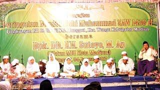 PENGAJIAN TERBARU 2017 || Munggut Wungu Madiun bersama KH. Sutoyo Ketua MUI kota madiun