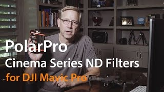 PolarPro Cinema Series ND Filters for DJI Mavic Pro
