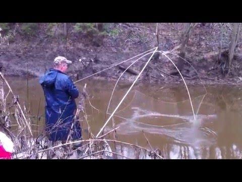подъемник для ловли крупной рыбы