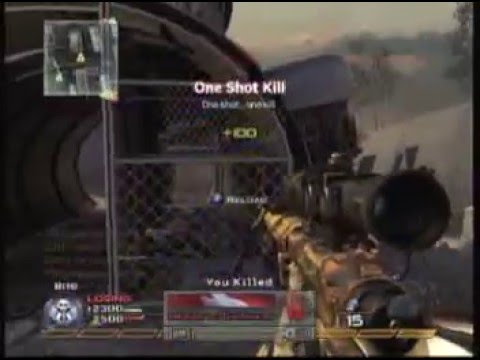 Modern Warfare 2 Sniper montage-PanDaMoNium