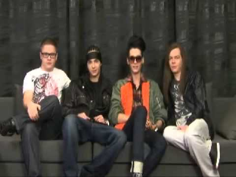 30.01.11 barks.jp: New videomessage from Tokio Hotel