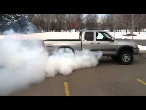 Toyota Tundra Supercharger Burnout